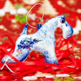 Ёлочные игрушки из фарфора / Porcelain Christmas toys