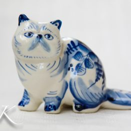 Кошки / Porcelain cats