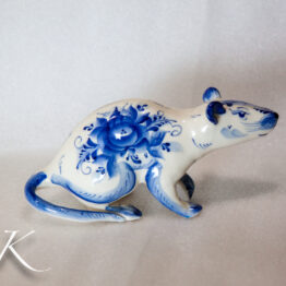 Мышки и крыски - символ года 2020 / Porcelain Mouse 2020 New Year