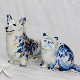 Авторская породистая гжель / Purebreed porcelain